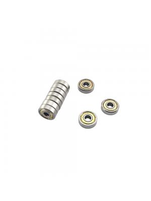 10 PCS Ball Bearing 625ZZ Metal Double Shielded Miniature Bearings