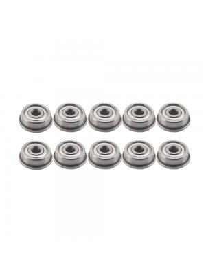10 PCS Micro Flange Ball Bearings F623ZZ with Edge 3x10x4mm