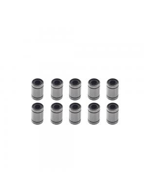 10 PCS LM6UU Linear Bearing Bushing ID6mm OD12mm H19mm