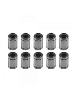 10 PCS LM10UU Linear Bearing Bushing ID10mm OD19mm H28mm