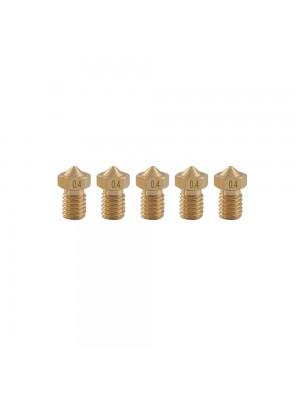 5 PCS Nozzle 0.4mm MK8 Extruder Head for 3D Printer