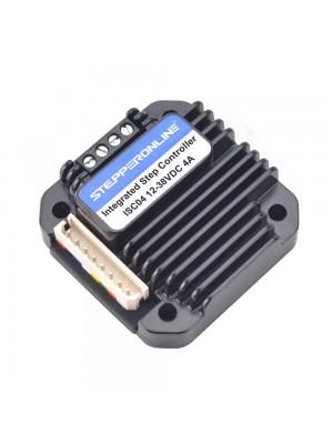 STEPPERONLINE Integrated Stepper Motor Controller 1.5-4A 12-40VDC for NEMA 17,23,24 Stepper Motor