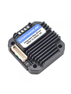 STEPPERONLINE Integrated Stepper Motor Driver 1.5-4A 12-40VDC for NEMA 17,23,24 Stepper Motor
