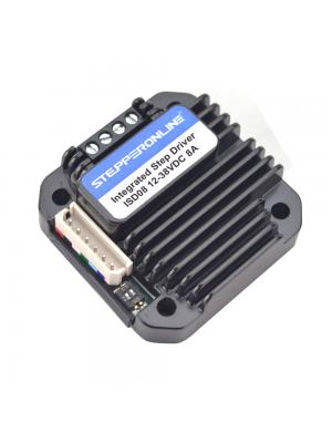 STEPPERONLINE Integrated Stepper Motor Driver 3-8A 12-40VDC for NEMA 23,24,34 Stepper Motor