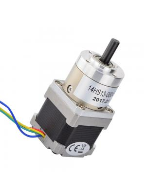 STEPPERONLINE Nema 14 Geared Stepper Motor Bipolar L=33mm w/ Gear Ratio 19:1 Planetary Gearbox