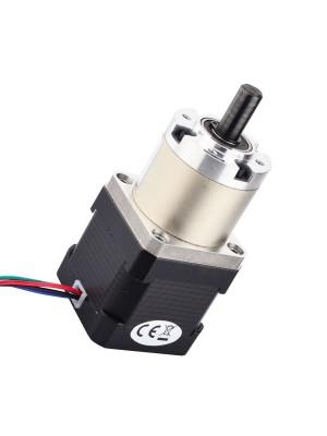 STEPPERONLINE Nema 17 Geared Stepper Motor Bipolar L=38mm w/ Gear Ratio 27:1 Planetary Gearbox