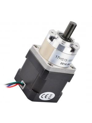 STEPPERONLINE Nema 17 Geared Stepper Motor Bipolar L=38mm w/ Gear Ratio 5:1 Planetary Gearbox