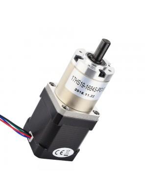 STEPPERONLINE Nema 17 Geared Stepper Motor Bipolar L=48mm w/ Gear Ratio 100:1 Planetary Gearbox
