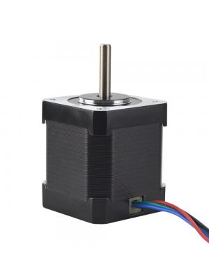 Stepper Motor 42BYGHW811 Bipolar 1.8deg 48Ncm (67.99 oz.in) 2.5A 42x42x48mm 4 Wires