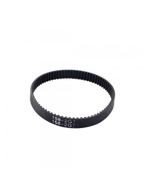 158mm GT2 Closed Loop Timing Belt Rubber 6mm Width Synchronous Belts