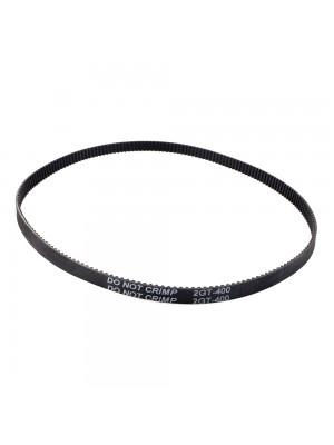400mm GT2 Closed Loop Timing Belt Rubber 6mm Width Synchronous Belts
