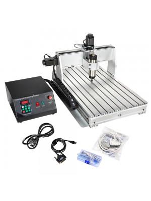 CNC Router 6040 3 Axis CNC Router Machine 600x400mm CNC Router Kit MACH3 Control Large 3D Engraving Milling Machine USB Port