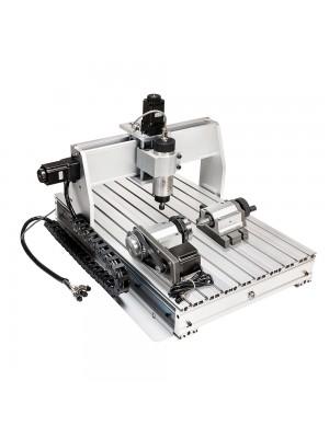 CNC Router 6040 4 Axis CNC Router Machine 600x400mm CNC Router Kit MACH3 Control Large 3D Engraving Milling Machine USB Port